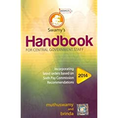 Swamy's Handbook 2014 for Central Government Staff