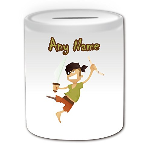 personalised-gift-pirate-peg-leg-money-box-fairy-tale-design-theme-white-any-name-message-on-your-un