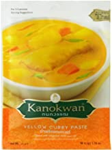 Yellow Curry Paste Kaeng Ka-reeThai Authentic Herbal Food Net Wt 50 G 176 Oz Kanokwan Brand X 5 Bags