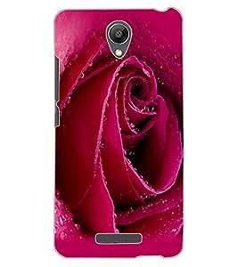 ColourCraft Beautiful Rose Design Back Case Cover for XIAOMI REDMI NOTE 2