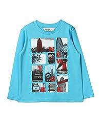 Beebay New York Printed T-Shirt (B0815200402016_Turq_10Y)