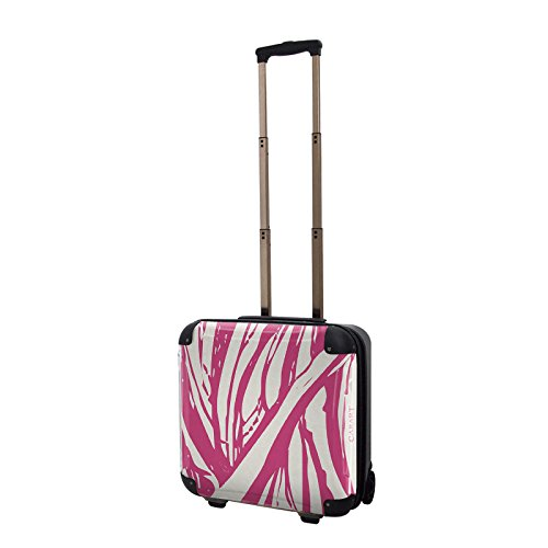 キャラート アートスーツケース ベーシック ソフィスティ(ピンク) ジッパー2輪 機内持込 CRB01-035A