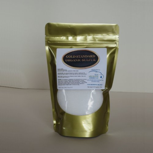 Gold Standard Organic Sulfur 1Lb