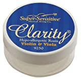 Super-Sensitive 9250 Clarity Rosin, Violin & Viola