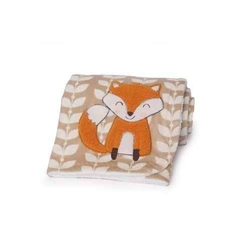 Carter's Velour Blanket, Fox (Discontinued by Manufacturer) - 1