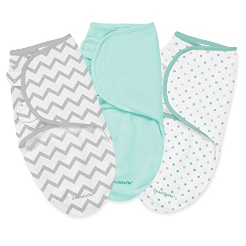 Swaddleme Cotton Knit 3 PK - Zig Zag & Party Dots - 1