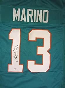 DAN MARINO SIGNED JERSEY MIAMI DOLPHINS PSA DNA by KLF Sports