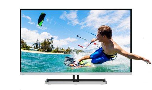 Grundig 42 VLE 9380 SL 106,7 cm (42 Zoll) LED-Backlight-Fernseher, EEK A+ (Full HD, 400 Hz PPR, DVB-C/-T/-S2, CI+, Smart Inter@ctive 2.0) matt-silber