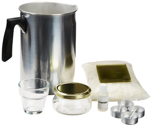 Natural Soy Wax Candle Making Kit (Metal Pouring Container compare prices)