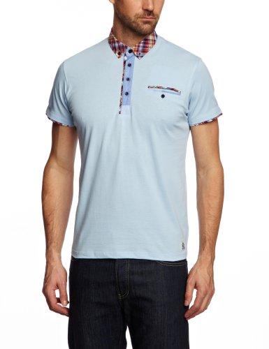 GUIDE LONDON SJ.3817 Polo Shirt Men's Top Sky Large