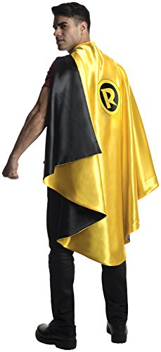 Rubie's Costume Co Men's DC Superheroes Deluxe Robin Cape