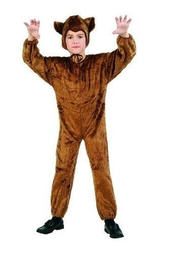 Kids' Bear Jumpsuit Costume