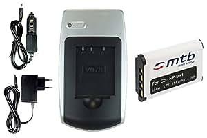 Chargeur + Batterie NP-BX1 pour Sony Cyber-shot DSC-RX1, RX100 / HDR-AS15 Action-Cam