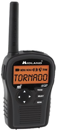 Midland HH54VP Portable Emergency Weather Radio with SAME (Black)