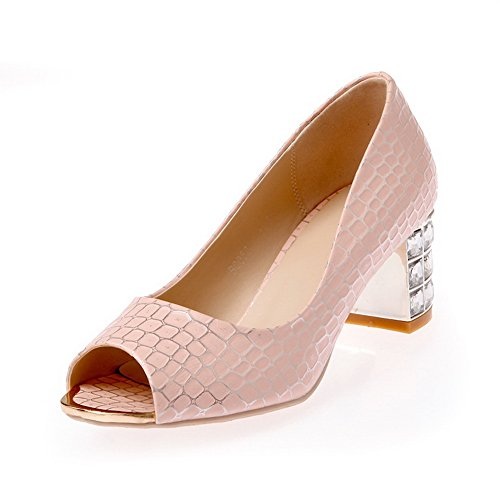 adee-ladies-rhinestones-checkered-pink-polyurethane-sandals-7-uk