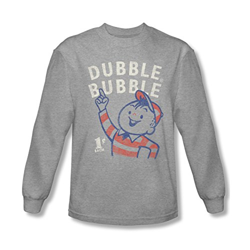 Double Bubble Pointing Long Sleeve T-Shirt DBL105LS
