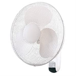 16 wall mounted fan with remote control