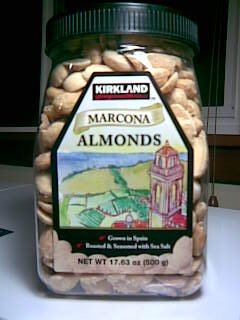 Roasted Spanish Marcona Almonds with Sea Salt