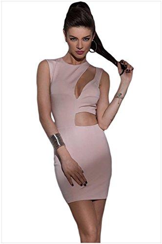MEINICE -  Vestito  - Donna Pink Small