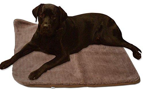 Hundedecke-70-x-100-braun-Heim-Tier-Decke-Hunde-Katze