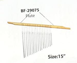 Flute Bamboo Wind Chime Windchime Bamboo