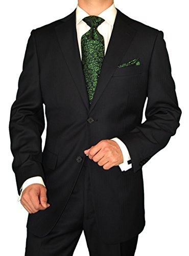 marzzotti-mens-suit-gianni-two-button-jacket-2-piece-flat-front-pants-black-shadow-stripe-44-regular