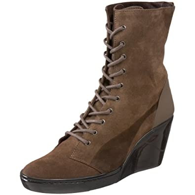 Urban Mobility by PUMA Black Label Women's Urban Motus Lace-Up Boot,Fossil,37 M EU / 6 B (M) US