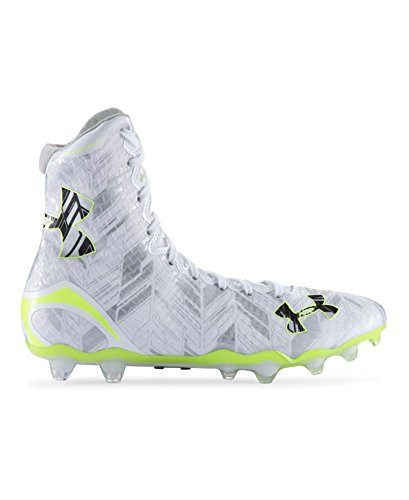 Under Armour Men`s UA Highlight MC Lacrosse Cleats 9 White