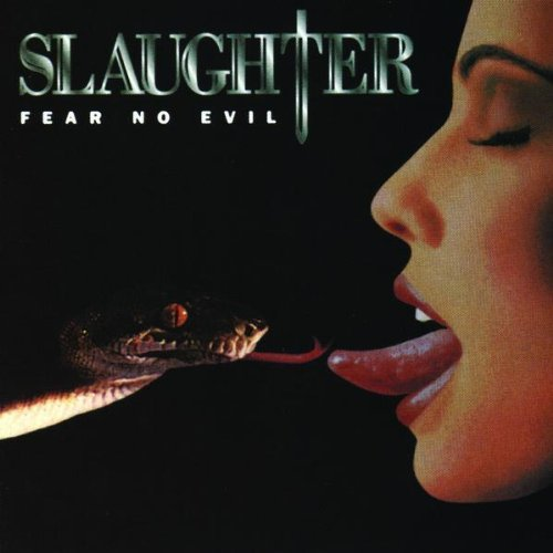 Original album cover of Fear No Evil by Slaughter
