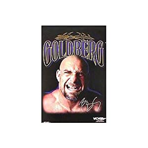 (24x36) WCW Wrestler (Goldberg) Sports Entertainment Poster