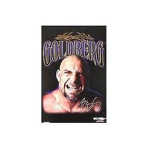 (24x36) WCW Wrestler (Goldberg) Sports Entertainment Poster