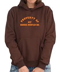 PROPERTY OF MY Bernese Mountain Dog Womens Hoodie