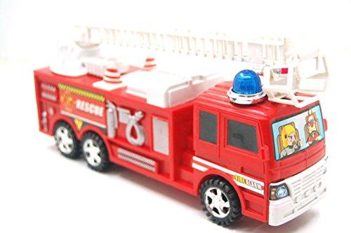 Pyrios (TM) di plastica rosso di simulazione antincendio Truck inerzia modello giocattolo per i bambini giocare il gioco Salva sicuro Toy Car per il capretto
