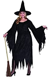 Adult Plus Size Witch Costume Size (16-20)