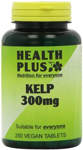 Health Plus Kelp 300mg Body Shape Plant Supplement - 250 Tablets