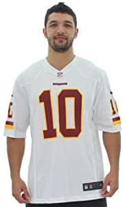 Nike Robert Griffin WA Redskins NFL On Field Jersey White Size XL