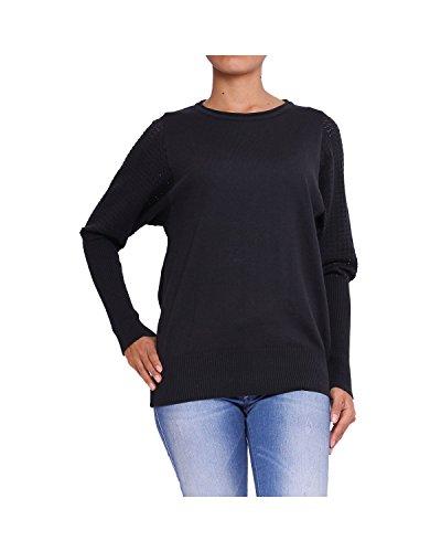 ANTA Q'ULQI - Maglione a maglia per donna - nero, S