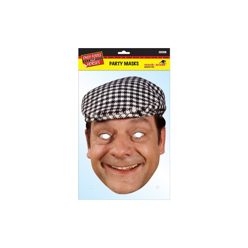 Party On Fancy Dress Derek Trotter / Del Boy Celebrity Mask