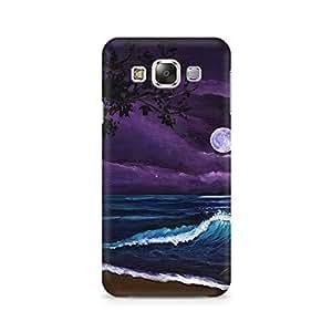 Mobicture Moon Premium Designer Mobile Back Case Cover For Samsung Grand 2 G7106