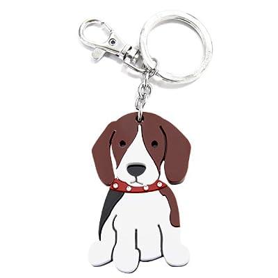 Love Your Breed Acrylic Keychain, Beagle