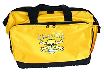 Calcutta Yellow Squall Tackle Bag with 4 367 Trays
