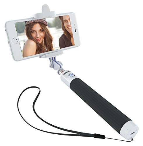 volsey vs1 built in bluetooth remote shutter selfie stick for iphone and android smartphones. Black Bedroom Furniture Sets. Home Design Ideas