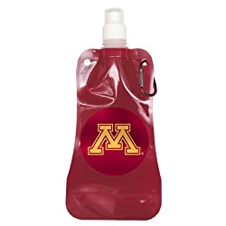 NCAA Minnesota Golden Gophers Foldable Water Bottle-Pack of 2, Maroon