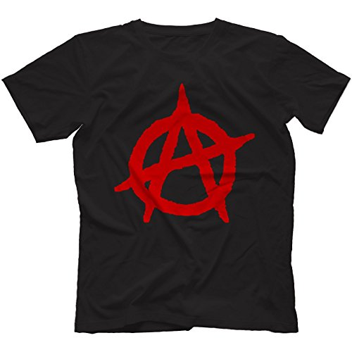 Anarchy Punk T-Shirt 100% Cotton,