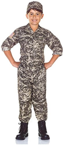 Us Army Boys Costume - Medium