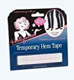 Hollywood Temporary Hem Tape 18 Strips by Hollywood Fashion Tape