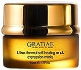 Gratiae Organics Ultrox Expression Marks Self Heating Thermal Mask 1.7 Ounce