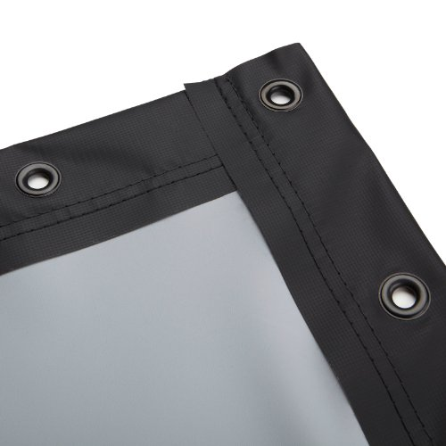 Cheapest Prices! Carl's FlexiGray, DIY Projector Screen, Finished Edges with Grommets, High Contrast...