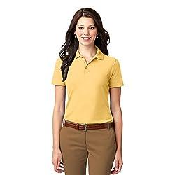 Port Authority Women's Stain Resistant Polo-Banana-1X