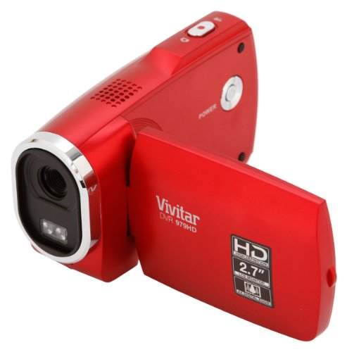 Видеокамера Vivitar 16.1 MP Digital Camera with 2.7-Inch TFT (DVR979HD-RED-ESP)